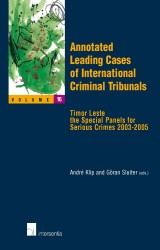 Annotated Leading Cases of International Criminal Tribunals - volume 16